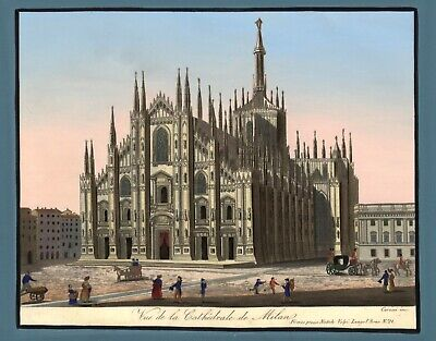 £3.95 • Buy Milan Cathedral Digitally Enhanced Reproduction Print From Original A4 /A3
