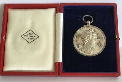 £45.32 • Buy 1935 John Pinches Royal Academy Of Music Silver Medal | Pennies2Pounds