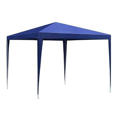 AU69.95 • Buy Instahut Gazebo 3x3m Tent Marquee Party Wedding Event Canopy Camping Blue