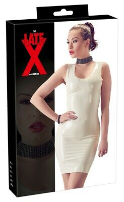 $59.50 • Buy Dress Latex Germany .4mm Thick Mid Length White X-small- 2x-large