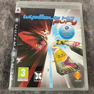 £35.95 • Buy WipEout HD Fury PS3 PlayStation 3 Game Complete Rare Sony Racer