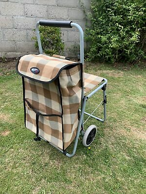 £18.80 • Buy Shopping Trolley With Seat