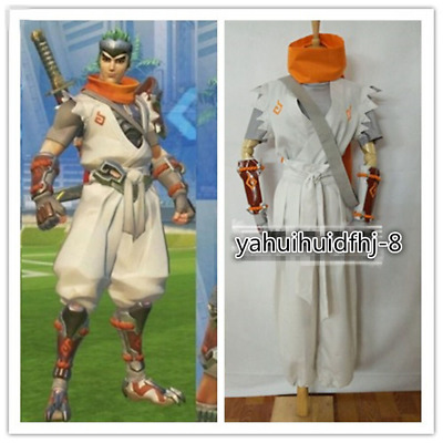 $ CDN114.43 • Buy  Cosplay Costume Sparrow Young Genji Full Set White Suit
