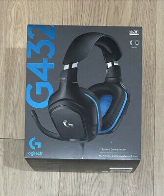 AU88.89 • Buy BRAND NEW IN BOX - Logitech G432 7.1 Surround Gaming Headset - FREE POSTAGE