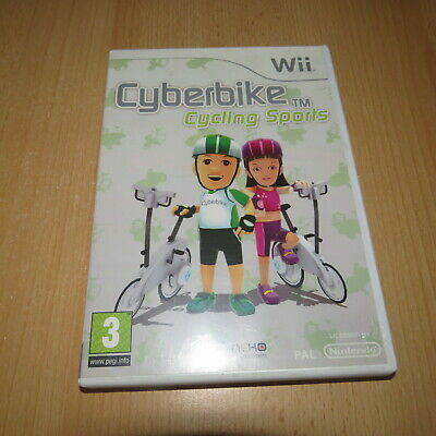 £4.99 • Buy Cyberbike Cycling Sports - Game Only (Nintendo Wii) - Pal