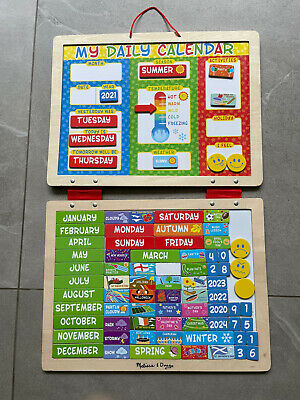 £10 • Buy Melissa And Doug My First Daily Magnetic Calendar For Children
