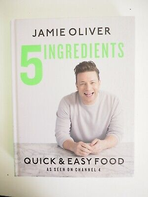 AU20 • Buy  5 Ingredients  Jamie Oliver Recipes Hard Book. Great Condition. Bargain Price.