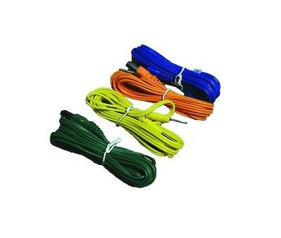 £22.61 • Buy ^ Sa 4 Test Leads Electrical Stimulator Enhancer Muscle Tesmed Max5 830 Power