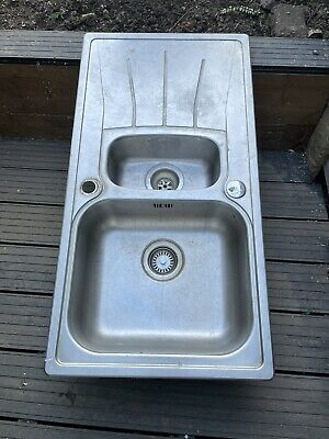£20 • Buy Reginox Double Kitchen Sink And Drainer Used