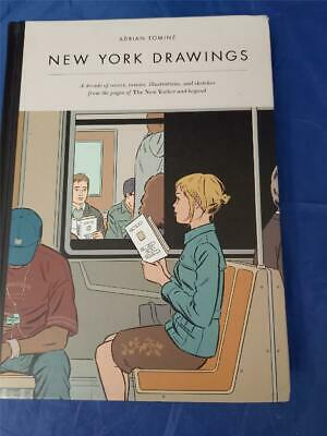 £10 • Buy NEW YORK DRAWINGS Adrian Tomine (Hardback  2012) Decade Of Pages THE NEW YORKER