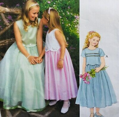 £7.50 • Buy SPECIAL OCCASION / PARTY / BRIDESMAID DRESS Sewing Pattern AGE 4/5/6 M3123