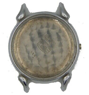 $ CDN314.71 • Buy Big Vintage Election Chronograph Watch Case For Parts Fancy Lugs 37,7 Mm!!