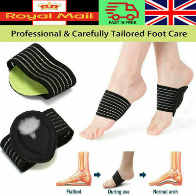 £2.10 • Buy FOOT ARCH SUPPORT Plantar Cushion Fascistic Aid Fallen Arches Heel Pain Relief