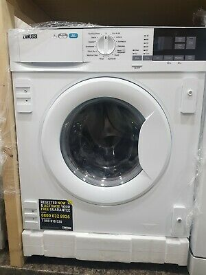 £459.99 • Buy New Unboxed Zanussi Z716WT83BI 7Kg/4Kg 1600rpm A Rated Integrated Washer Dryer