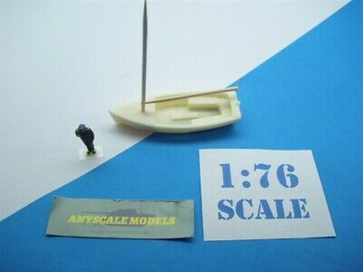 £3.50 • Buy OO/4mm Model Railway Waterline Small Sail Boat With Mast. (20S342)