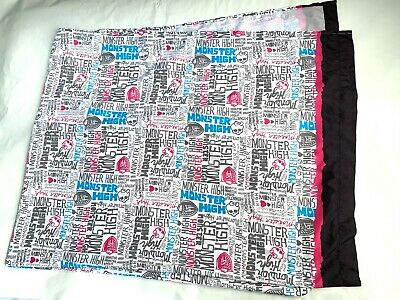 £19.46 • Buy Monster High Bedding Full Size Sheets Fitted Flat Bed Sheets White Spellout 2 Pc