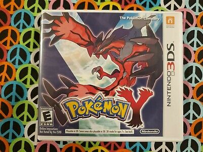 $39.99 • Buy Pokemon Y (Nintendo 3DS, 2013) Game, Case And Inserts Great Condition