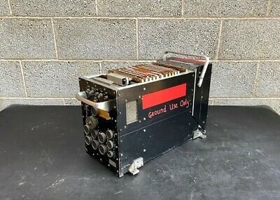 £70 • Buy Ex MOD Racal Radar Pulse Receiver Type 50250 British Army Military Aviation A...