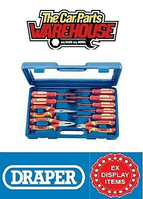 £69.99 • Buy Draper 51111 VDE Approved Screwdriver And Pliers Set (10 Piece -D10-