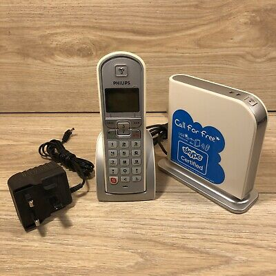 £17 • Buy Philips VOIP 321 Phone Cordless Phone With VIOP Function Untested MISSING DRIVER