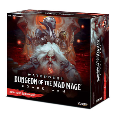 AU133.95 • Buy Dungeons & Dragons Waterdeep Dungeon Of The Mad Mage Board Game NEW