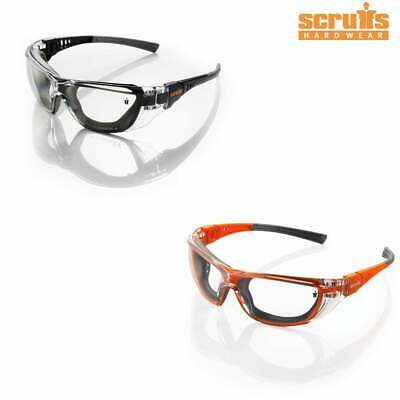 £12.25 • Buy SCRUFFS Falcon Work Safety Specs Glasses Goggles Lightweight UV Protection VAT