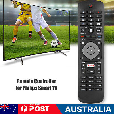 AU9.99 • Buy Replacement Remote Control For PHILIPS Smart TV With NETFLIX APP HOF16H303GPD24