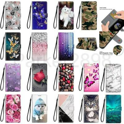 AU9.99 • Buy For IPhone 12 11 Pro Max XR XS 8 7 Plus SE2 Pattern Leather Wallet Case Cover