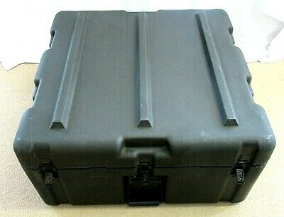 $119 • Buy Military Style Shipping Transport Storage Case With Wheels