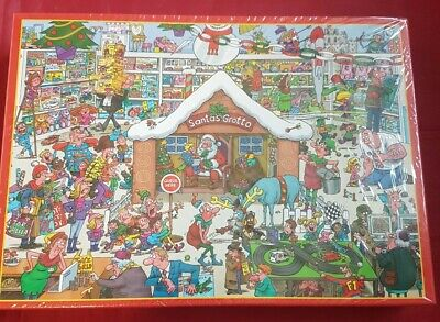 £10.87 • Buy Santas Grotto 1000 Piece Jigsaw Puzzle NEW AND SEALED