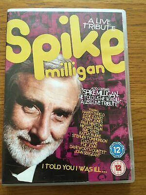 £2.39 • Buy Spike Milligan: I Told You I Was Ill - A Live Tribute DVD (2007) Spike Milligan