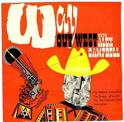 £2.40 • Buy Alex Campbell - Way Out West - 7  Record Single