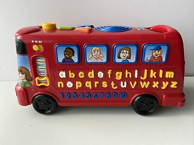 £10.99 • Buy VTech Interactive Preschool Learning Playtime Bus, Phonics, Songs & Numbers. VGC
