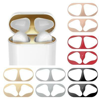 AU1.53 • Buy Metal Dust Guard Protective Sticker Film Cover For Airpods Accessories F5B6 R6V0