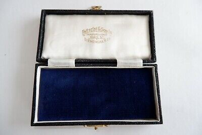 £24 • Buy Antique Edwardian Pendant / Medal  Box - C1905's, By 'fattorini', Exceptional!