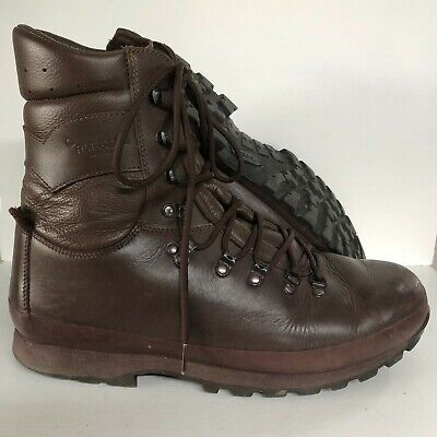 $82.51 • Buy Genuine  Military Altberg Defender High Liability Male Brown Boots 13 Medium