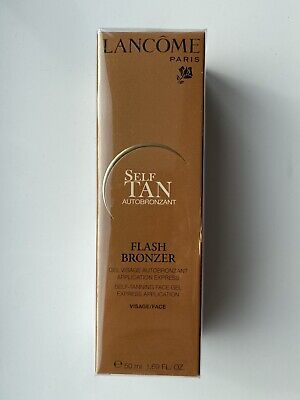 £95 • Buy Lancome Flash Bronzer Self Tanning Face Gel. 50ml. Rare Discontinued. NEW Sealed