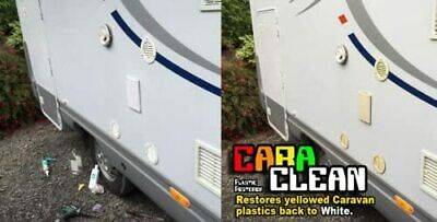 £8.49 • Buy CARA CLEAN- Restore Yellowed Caravan And Motorhome Vents / Covers Back To White