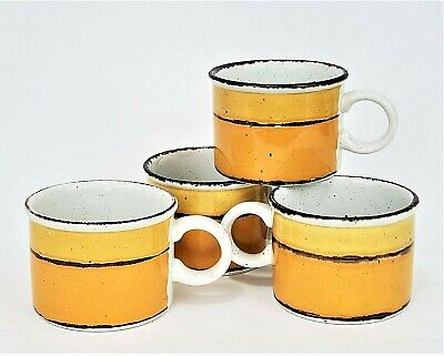£39.49 • Buy Vintage Midwinter Stonehenge Sun 4 Coffee Cup, Mugs 2,5  - Made In England