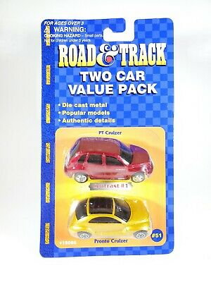 $ CDN11.22 • Buy Maisto Road & Track Two Car Value Pack PT Cruiser And Pronto Cruizer NEW 1/64