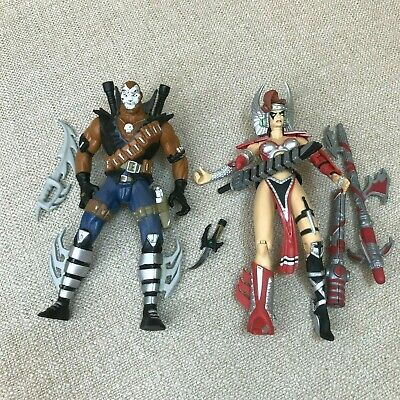 $12 • Buy MacFarlane Spawn Chapel & Angela 6  Action Figures Loose With Weapons