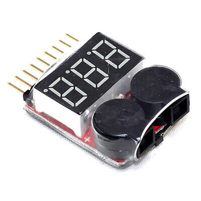 £1.66 • Buy RC Lipo Battery Low Voltage Alarm 1S8S Buzzer Indicator LED New New Tester E1O9