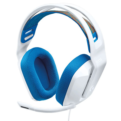 AU142.95 • Buy Logitech G335 Wired Gaming Headset White NEW