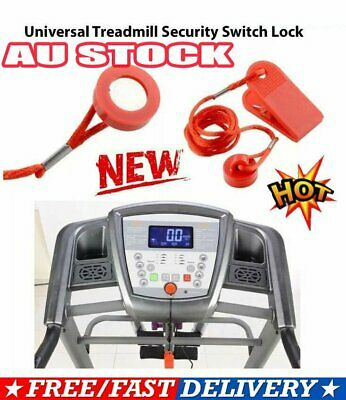 AU8.56 • Buy Treadmill Safety Key Lock Running Machine Switch Security Magnetic Fitness FZ
