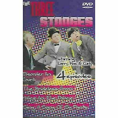 £4.89 • Buy The Three Stooges 4 Episodes [DVD] [Region 1 Rare US Import]