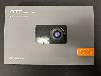 AU54.34 • Buy APEMAN Dual Dash Cam 1440P Front And 1080P Rear Camera For Cars - No Power