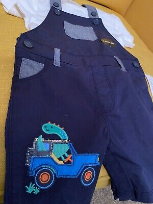 £6 • Buy Blue Zoo Boys Dungarees 9-12m