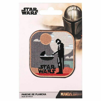 £4.99 • Buy Official Star Wars The Mandalorian Din Djarin And Child Iron On Patch