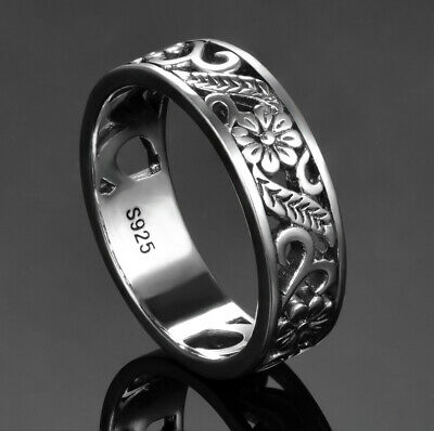 AU26.50 • Buy Classic Round Ring S925 Sterling Silver Ring By Charm Heaven NEW