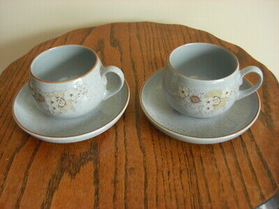 £12 • Buy 2 X  DENBY REFLECTIONS CUPS AND SAUCERS,mint Condition